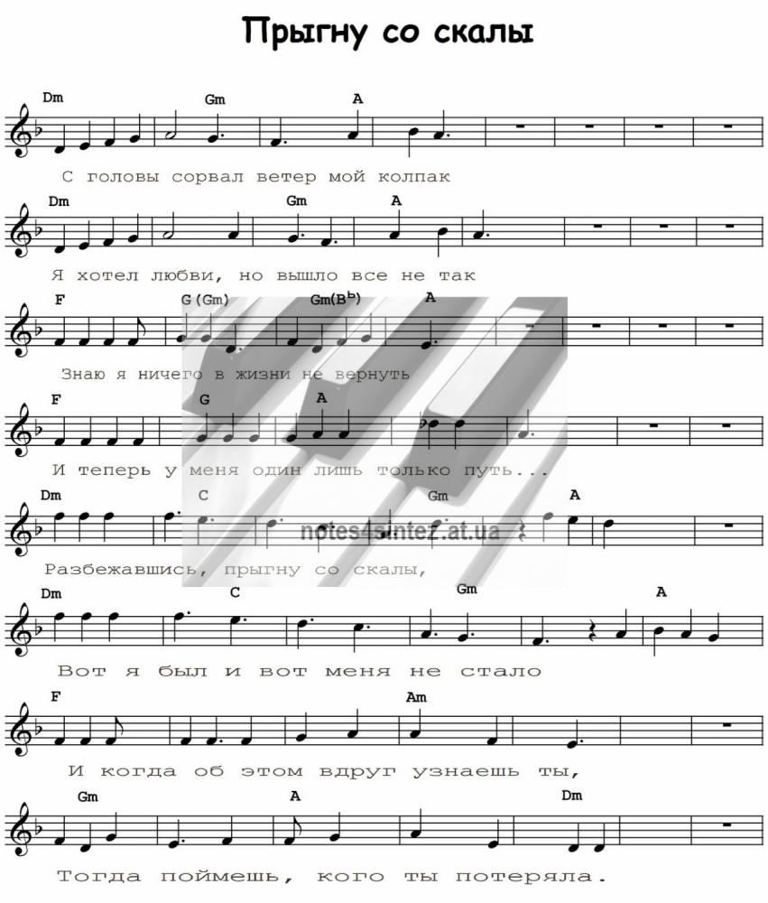 Леприконсы - Хали-Гали, Паратрупер: аккорды для гитары, табулатура (табы) и